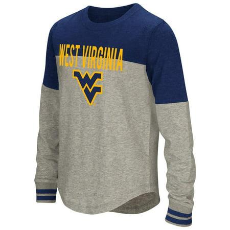 - Youth Girls' Baton West Virginia Mountaineers Long Sleeve Shirt