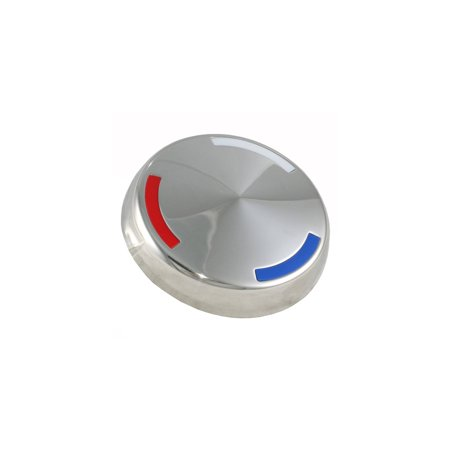 Eckler's Premier  Products 25101940 Corvette KnockOff Wheel Center Cap ()