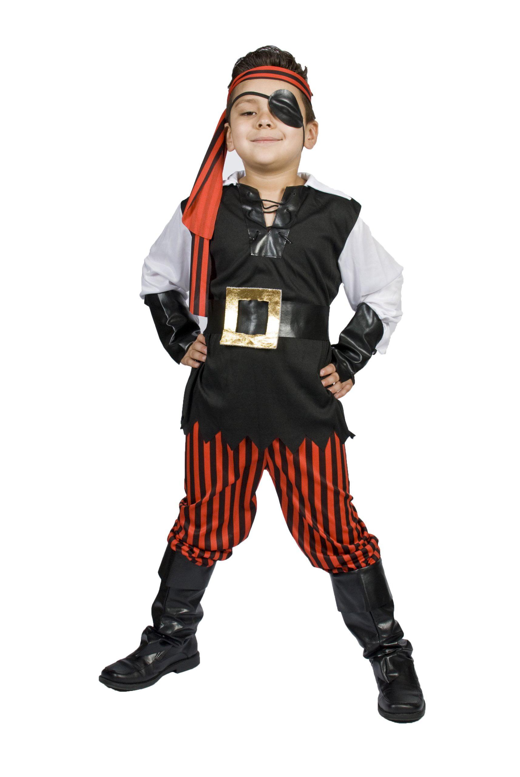 monika fashion world boys pirate light up belt child kids size m for