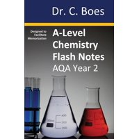 Chemistry Revision Cards: A-Level Chemistry Flash Notes AQA Year 2: Condensed Revision Notes - Designed to Facilitate Memorisation (Paperback)