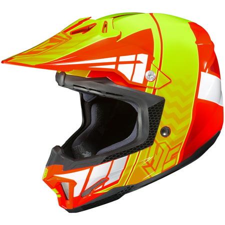 HJC CL-X7 Cross Up Helmet Bright Orange (MC-6) (Orange, X-Small)