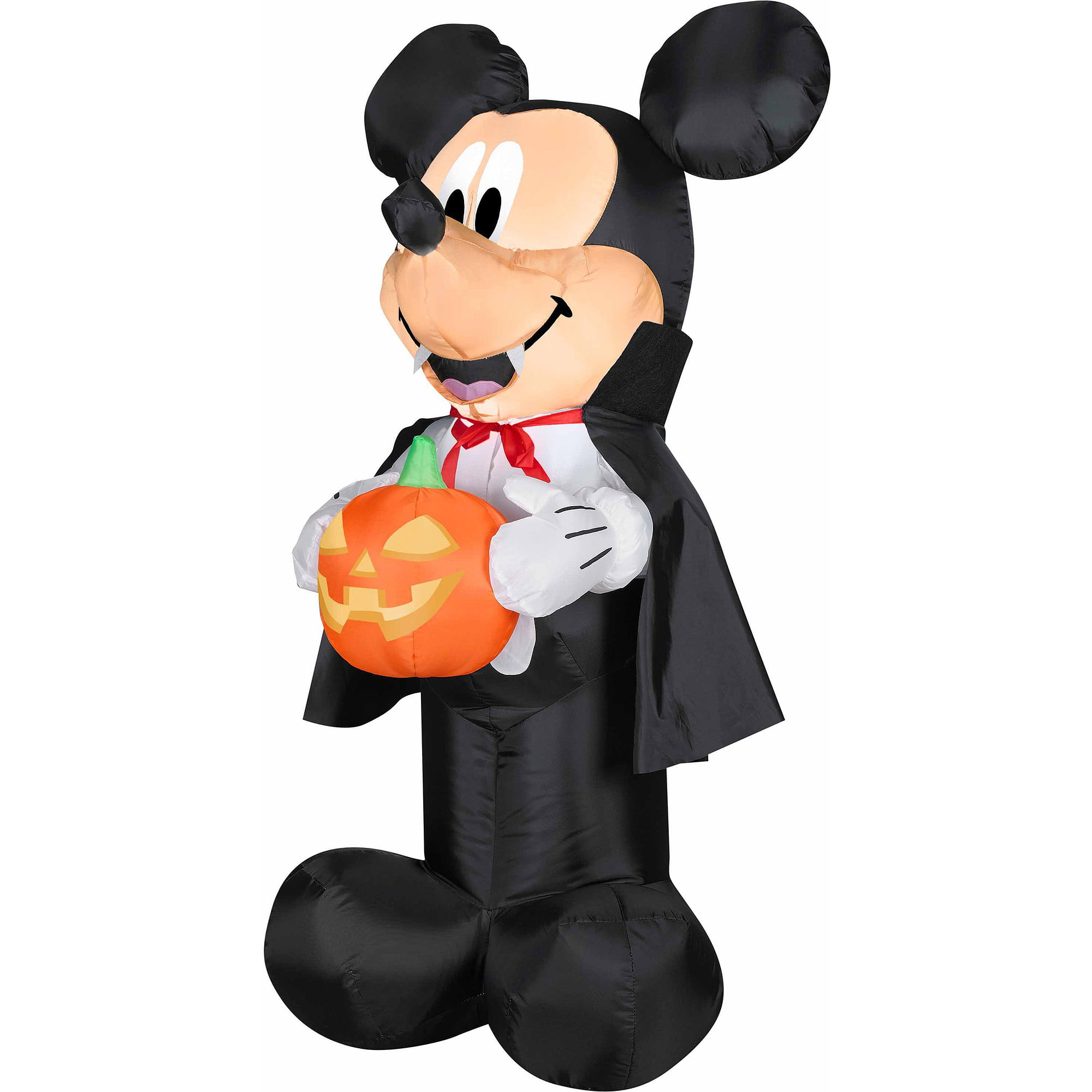 4 airblown outdoor mickey vampire wpum walmartcom - Blow Up Halloween Decorations
