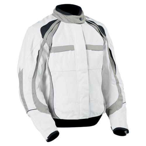 Castle Streetwear Flex Womens Jacket White