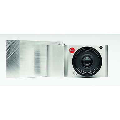 Leica T Mirrorless Digital Camera (Silver) 018-181 by Leica