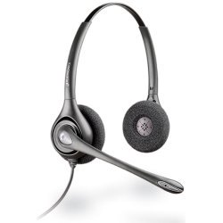 Plantronics - 75101-01 - Plantronics Plantronics Supraplus HW261N Binaural Headset - Wired Connectivity - Stereo - Plantronics Supraplus Binaural Headset