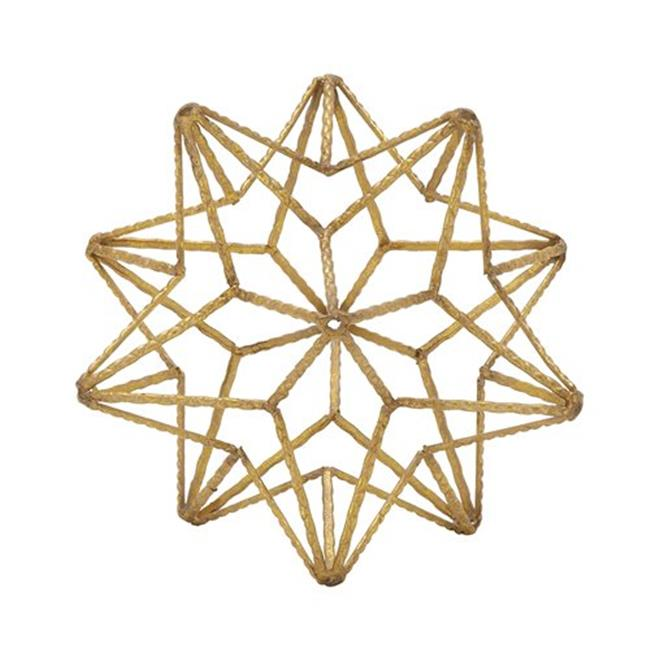 Benzara 87444 Attractive Metal Star Table Top