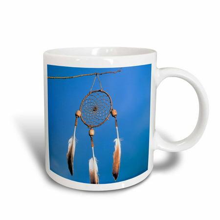 3dRose Native American Dreamcatcher - US52 AWY0014 - Angel Wynn, Ceramic Mug, 15-ounce