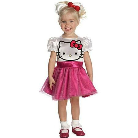 Hello Kitty Halloween Costume Cheap (Hello Kitty Tutu Dress Toddler Halloween)