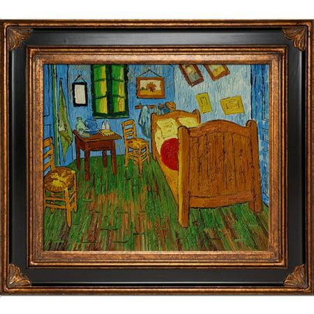 Tori Home Bedroom at Arles by Vincent Van Gogh Framed ...