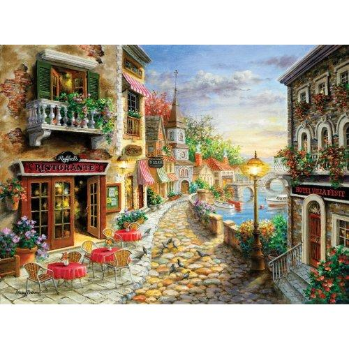 Sunsout Puzzle Company Hotel Villa DEste Multi-Colored