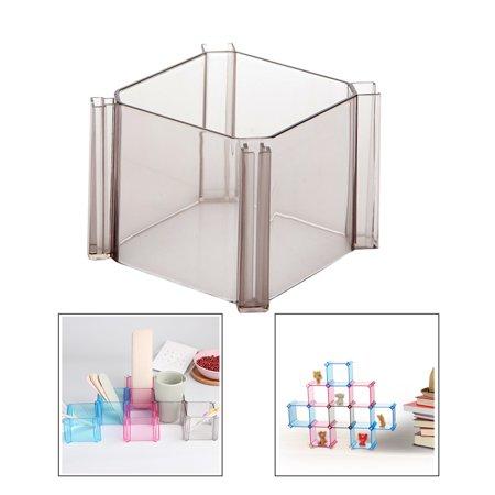 6pcs DIY Combination Honeycomb Drawer Divider Underwear Socks Storage Organizer Plastic Cabinet Partition - image 7 de 8