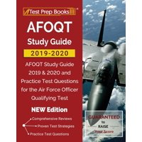 AFOQT Study Guide 2019-2020: AFOQT Study Guide 2019 & 2020 and Practice Test Questions for the Air Force Officer Qualifying Test [NEW Edition] (Paperback)