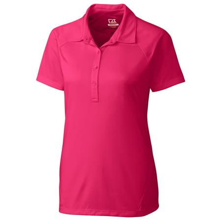 Cutter & Buck Polo Shirt (Cutter And Buck Women's 4 Button Placket Polo Shirt )