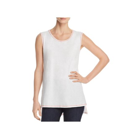 Eileen Fisher Silk Tunic - Eileen Fisher Womens Organic Cotton Sleeveless Tunic Top White S