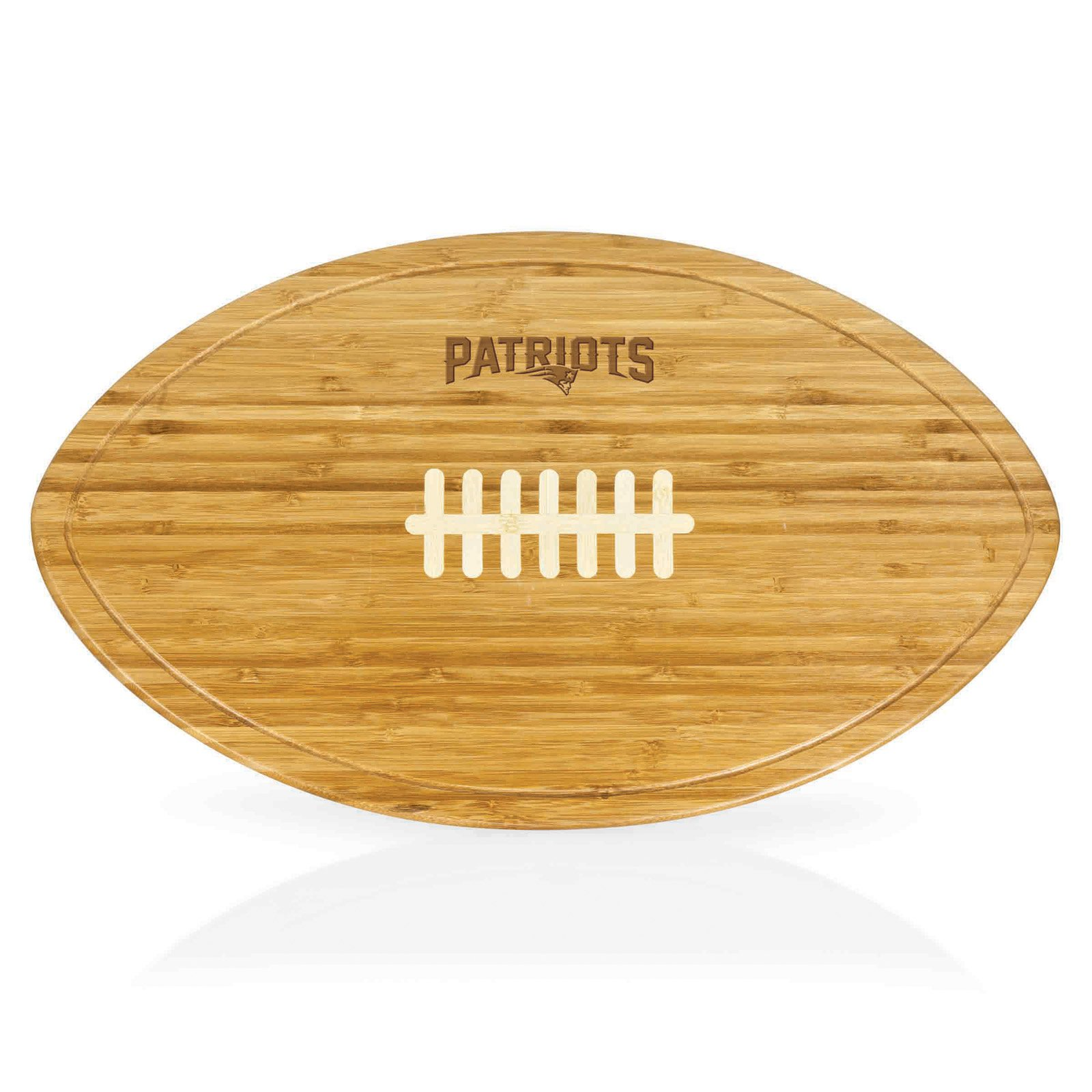 Picnic Time NFL Kickoff Football Cutting Board and Serving Tray