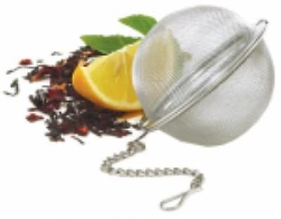 """2"""" Stainless Steel Mesh Tea Ball Boxed With Hang Tab 2PK by"""
