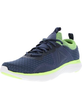Product Image Reebok Men s Astroride Run Fire Mtm Indigo   Navy Flash White  Silver Ankle-High Running a2f636254