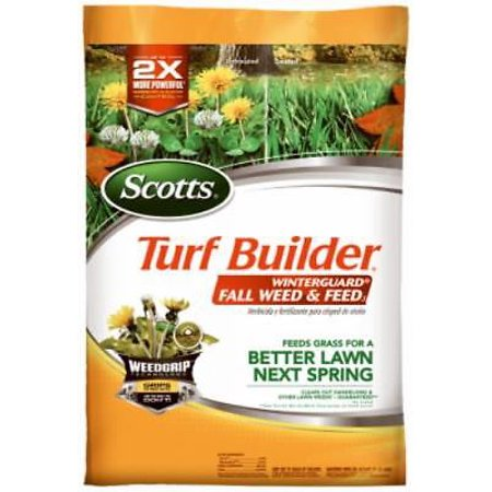 5,000 SQFT Coverage 28-0-10 Turf Builder Winterguard Fall Weed and