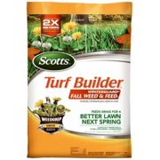 5,000 SQFT Coverage 28-0-10 Turf Builder Winterguard Fall Weed and Feed
