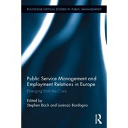 Public Service Management and Employment Relations in Europe - eBook