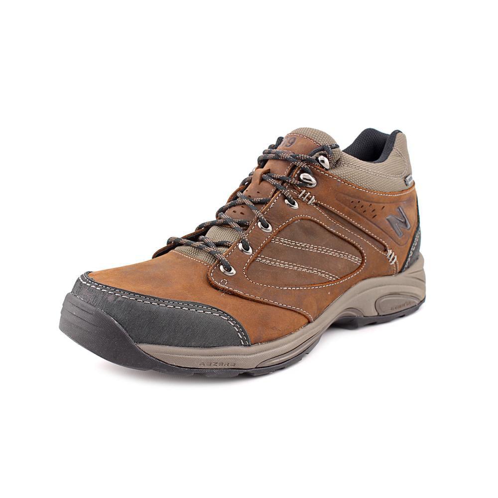 New Balance MW1569 Men 2E Round Toe Leather Brown Walking Shoe