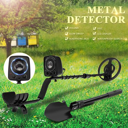 GC-1065 Adjustable Waterproof All Metal Detector Deep Sensitive Search Gold Digger Hunte 6.3