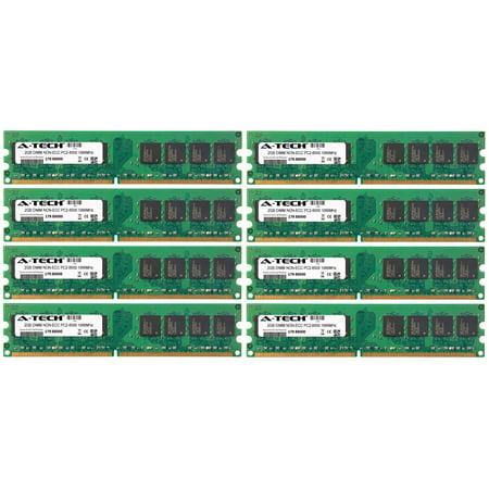 16GB Kit 8x 2GB Modules PC2-8500 1066MHz NON-ECC DDR2 DIMM Desktop 240-pin Memory Ram