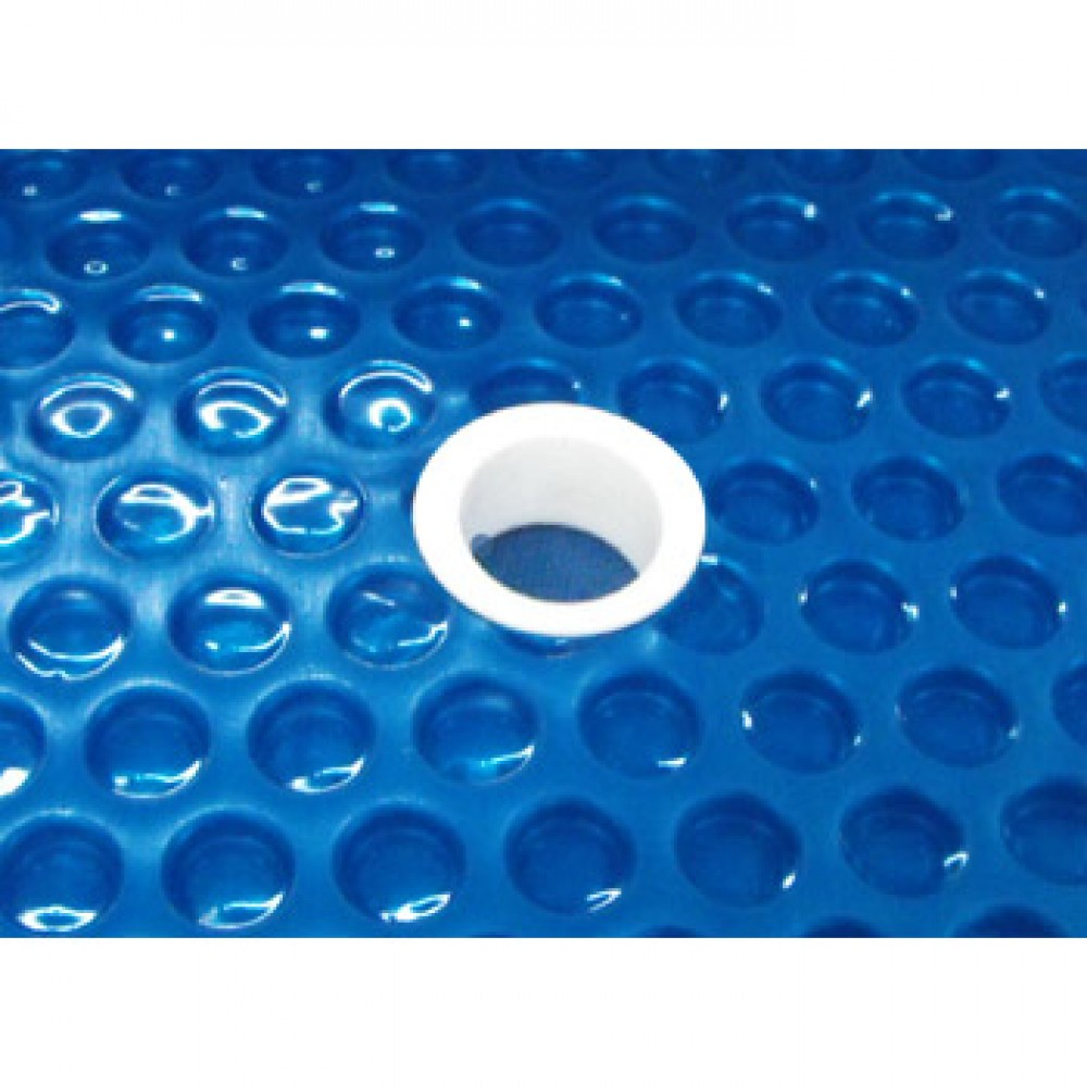 Sun2Solar Blue Round Solar Cover Blanket with Grommets {Various Color, Size and Thickness}