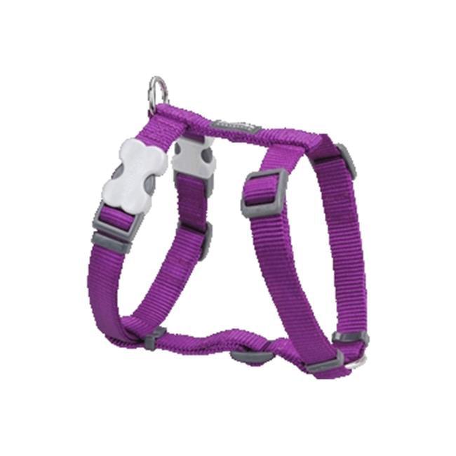 Red Dingo DH-ZZ-PU-XL Dog Harness Classic Purple, XLarge