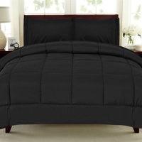 Box Stitch Microfiber Down Alternative Polyester Comforter
