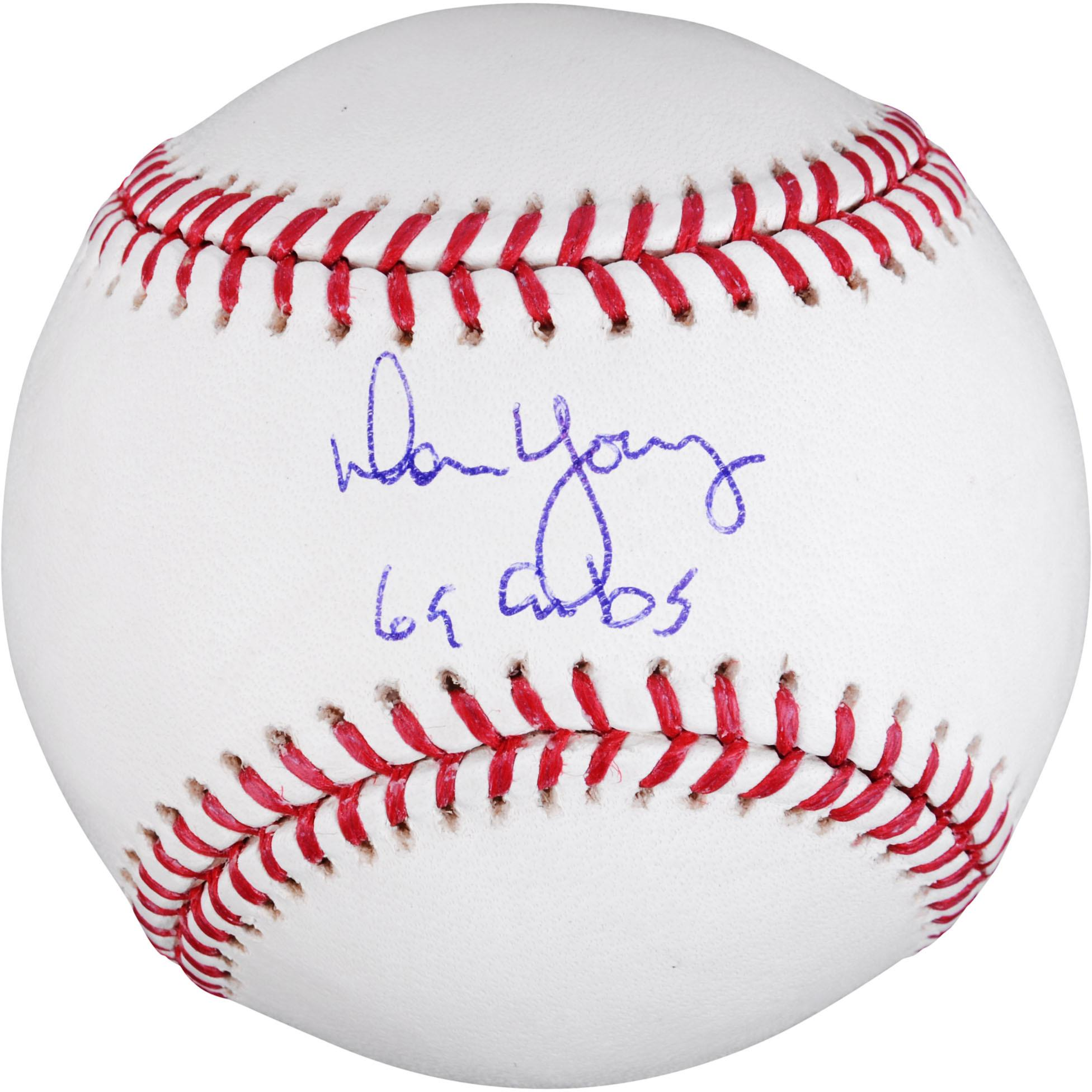 "MLB - Don Young Autographed Baseball | Details: Chicago Cubs, with ""69 Cubs"" Inscription"
