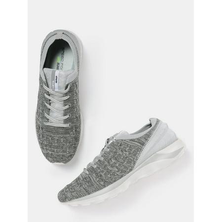 fa12985da49 HRX by Hrithik Roshan Men Grey Melange Metagrip Running Shoes - image 1 of  6 ...