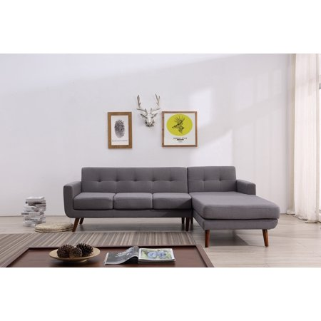 Barnet Mid Century Sectional Right Hand Facing ()