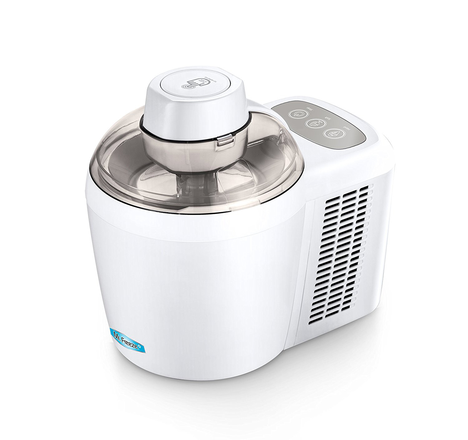 Mr. Freeze EIM-700T 1.5 Pint Thermo Electric Self-Freezing Ice Cream Maker, Turquoise