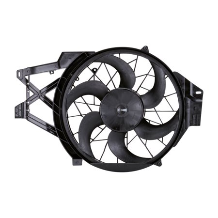 TYC 620460 Dual Radiator and Condenser Fan for 99-04 Ford Mustang