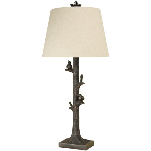 Style Craft Tree With Birds Table Lamp Walmart Com