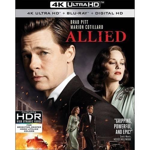 Allied (4K Ultra HD + Blu-ray + Digital HD)