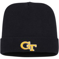 Georgia Tech Yellow Jackets Top of the World Primary Logo Simple Cuffed Knit Hat - Navy - OSFA