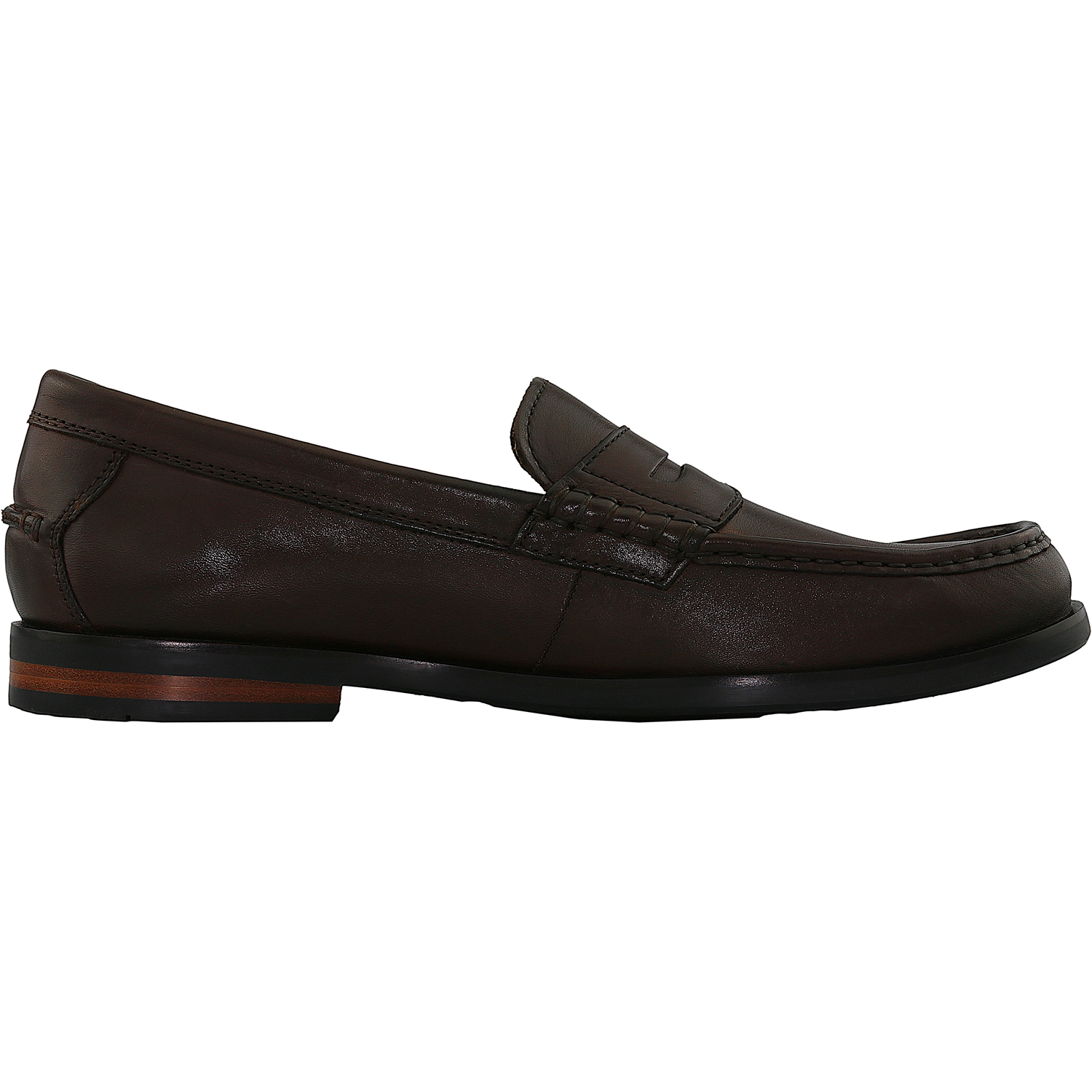 Cole Haan Men's Pinch Friday Contemporary Hand Stained Leather Black Ankle-High Loafer - 10M