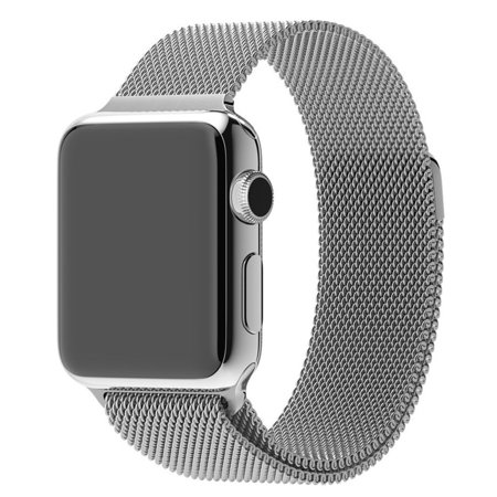 Milanese Magnetic Loop Stainless Steel Watch Band Strap For Apple Watch 42Mm