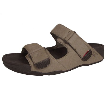 905c0aa3eb44 Fitflop - Fitflop Mens Gogh Moc Slide Adjustable Sandal Shoes ...
