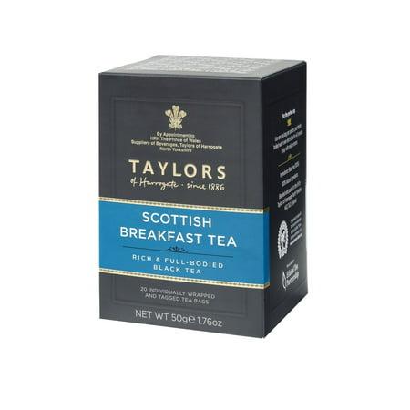 (2 Pack) Taylors of Harrogate Scottish Breakfast Tea, 20 Tea Bags (Taylors English Breakfast Tea)
