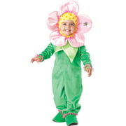 incharacter baby blossom toddler costume-small (3t) pink/green