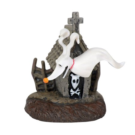 Department 56 Nightmare Before Christmas 6001203 Zero And His Dog House Accessory