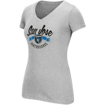 MLS San Jose Earthquakes Womens Arch Scarf Short Sleeve Tee for $<!---->