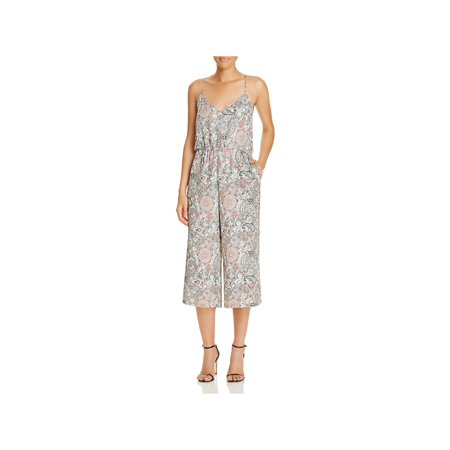 5e44358f6ac Cupcakes and Cashmere - Cupcakes and Cashmere Womens GALE Printed  Sleeveless Jumpsuit - Walmart.com
