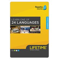 Rosetta Stone: Learn A Language with Lifetime Access on iOS, Android, PC, and Mac [Activation Code by Email]