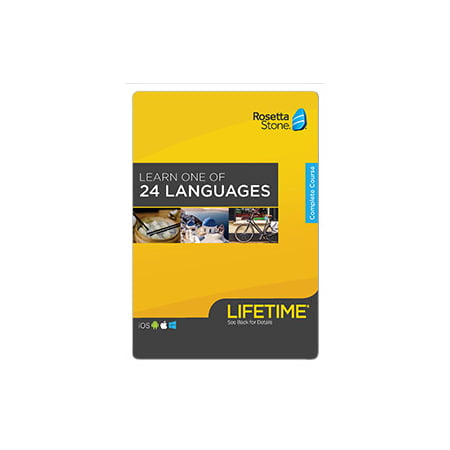 Rosetta Stone: Learn A Language with Lifetime Access [Email Delivery] (Rosetta Stone French Level 5)