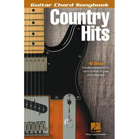 Guitar Chord Songbook Book - Country Hits - Guitar Chord Songbook