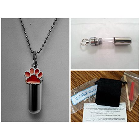 Lovely DOG/CAT/PET - RED PAW CREMATION URN on 24